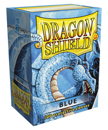 Obaly na karty Dragon Shield Protector - Blue - 100ks
