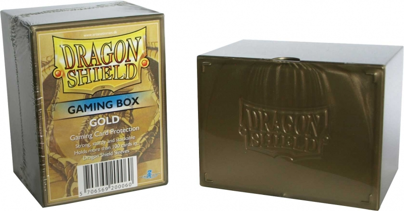 Krabička na karty - Dragon Shield Gaming Box: Gold
