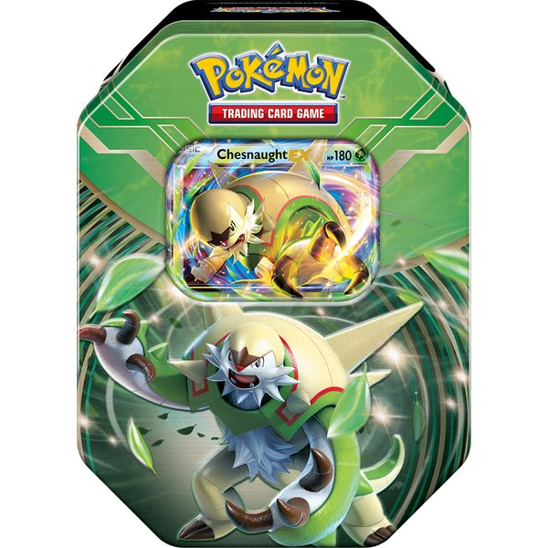 Pokémon: XY Kalos Power Tin 2014 - Chesnaught EX