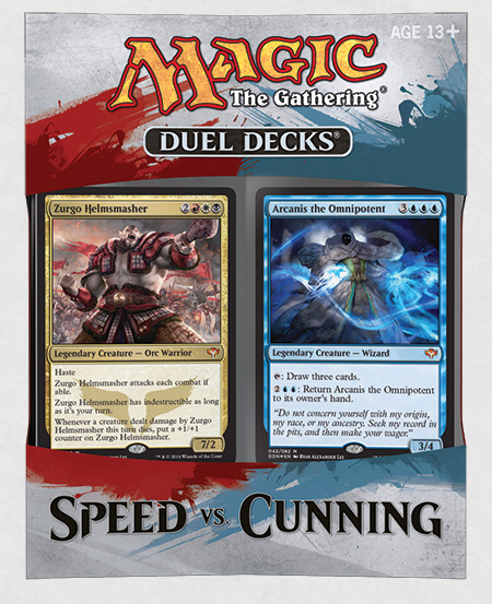 Magic the Gathering Speed vs. Cunning Duel Decks