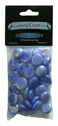 Dragon Shield - Gaming Counters - Marble Blue 30ks