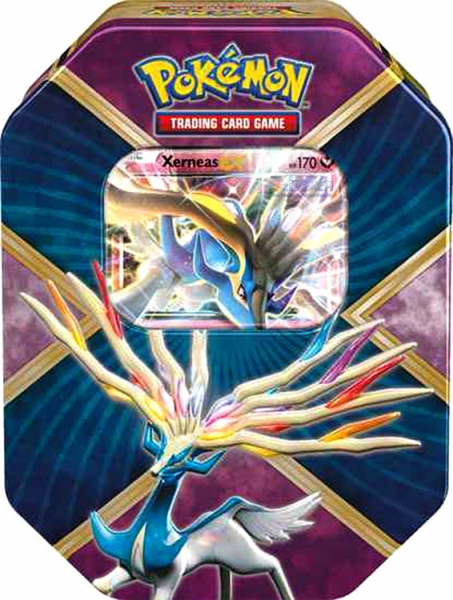 Pokémon: Shiny Kalos Summer 2016 Tin - Xerneas-EX
