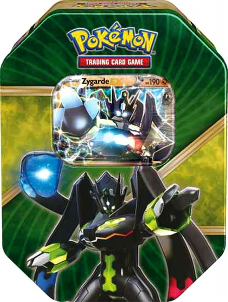 Pokémon: Shiny Kalos Summer 2016 Tin - Zygarde-EX
