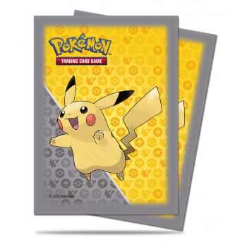 Pokémon: 65 obalů na karty Pikachu Grey Design