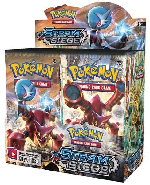 Pokémon XY - Steam Siege Booster Box
