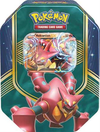 Pokémon: Battle Heart Fall 2016 Tin - Volcanion-EX
