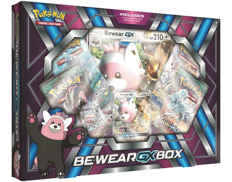 Pokémon Bewear-GX Box