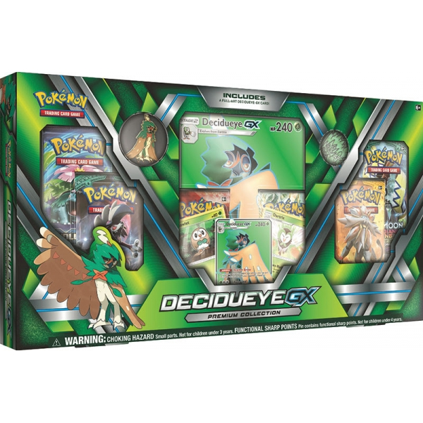 Pokémon Decidueye-GX Premium Collection Box