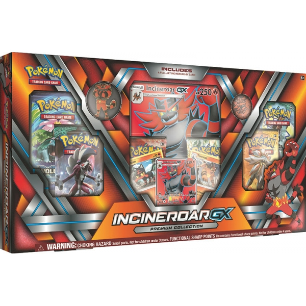 Pokémon Incineroar-GX Premium Collection Box