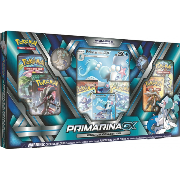 Pokémon Primarina-GX Premium Collection Box