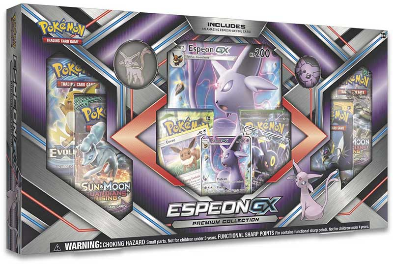 Pokémon Espeon-GX Premium Collection Box