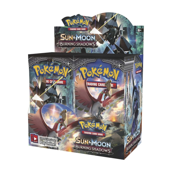 Pokémon Sun and Moon - Burning Shadows Booster Box
