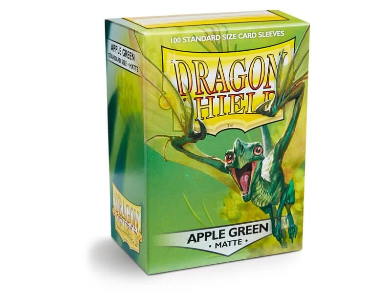 Obaly na karty Dragon Shield Protector - Matte Apple Green - 100ks