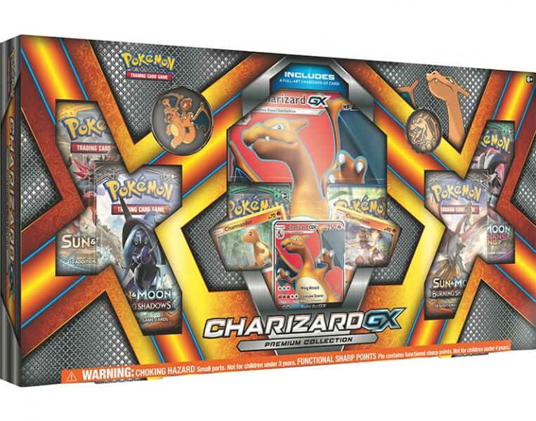 Pokémon Charizard-GX Premium Collection Box