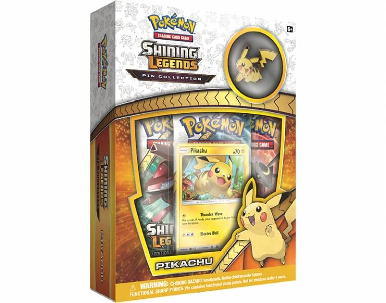 Pokémon Shining Legends Pin Collection - Pikachu