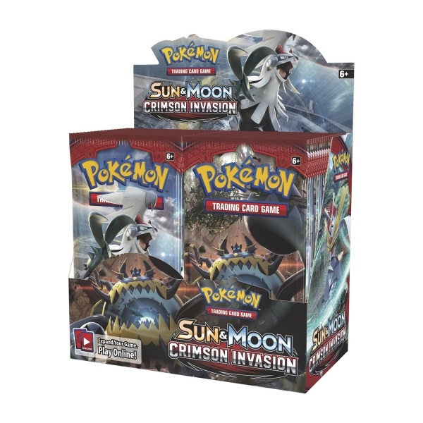 Pokémon Sun and Moon - Crimson Invasion Booster Box