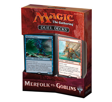 Magic the Gathering Duel Decks: Merfolk vs. Goblins