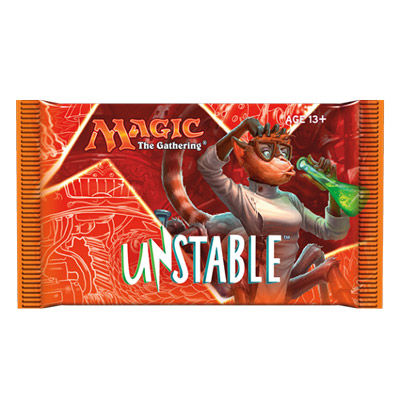 Magic the Gathering Unstable Booster