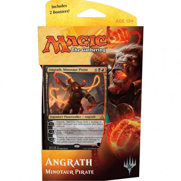 Magic the Gathering Rivals of Ixalan Planeswalker Deck: Angrath, Minotaur Pirate