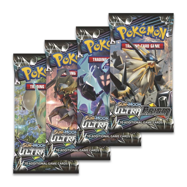 Pokémon Sun and Moon - Ultra Prism Booster