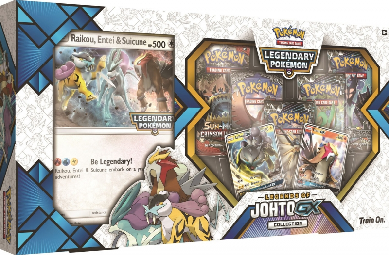 Pokémon Legends of Johto-GX Premium Collection