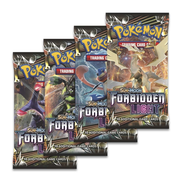 Pokémon Sun and Moon - Forbidden Light Booster