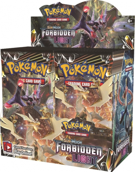 Pokémon Sun and Moon - Forbidden Light Booster Box