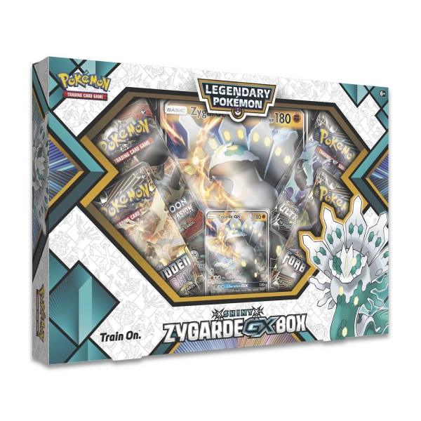 Pokémon Shiny Zygarde-GX Box