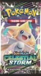 Pokémon Sun and Moon - Celestial Storm Booster - Jirachi