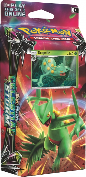 Pokémon Sun and Moon - Celestial Storm PCD - Leaf Charge - Sceptile