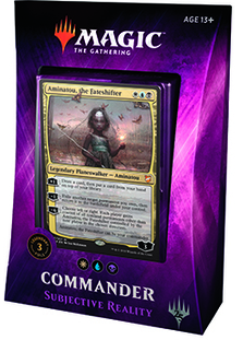 Magic the Gathering Commander 2018 - Subjective Reality