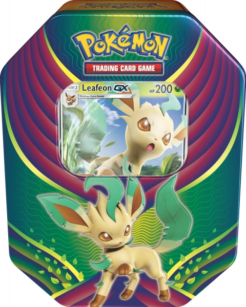 Pokémon Evolution Celebration Tin - Leafeon-GX