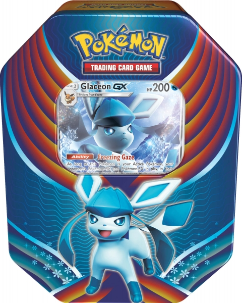 Pokémon Evolution Celebration Tin - Glaceon-GX