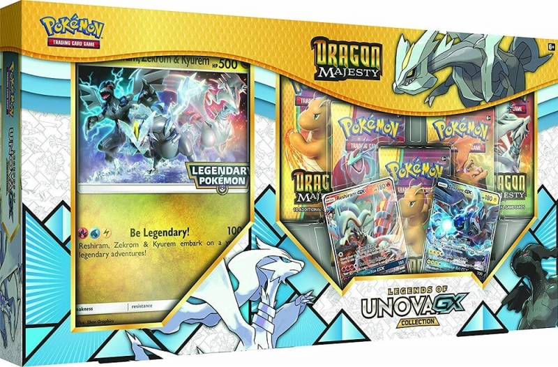 Pokémon Dragon Majesty Legends of Unova GX Collection
