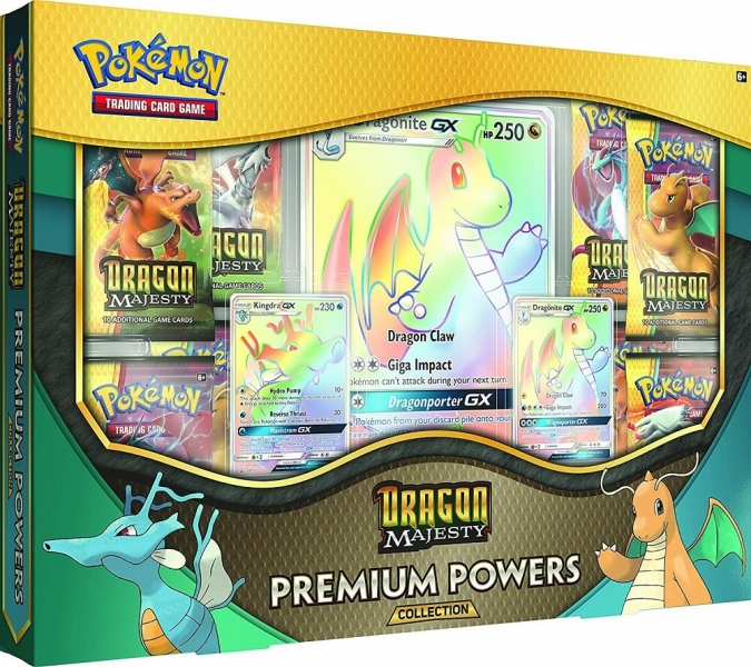 Pokémon Dragon Majesty Premium Powers Collection