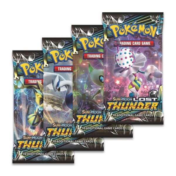 Pokémon Sun and Moon - Lost Thunder Booster