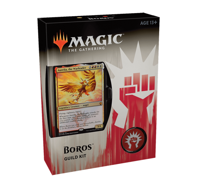 Magic the Gathering Guilds of Ravnica Guild Kit - Boros