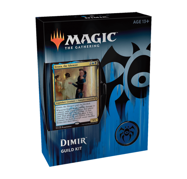 Magic the Gathering Guilds of Ravnica Guild Kit - Dimir