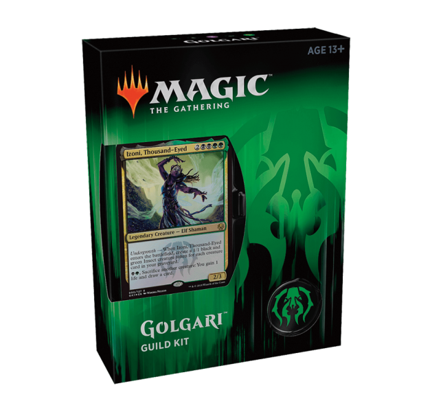Magic the Gathering Guilds of Ravnica Guild Kit - Golgari