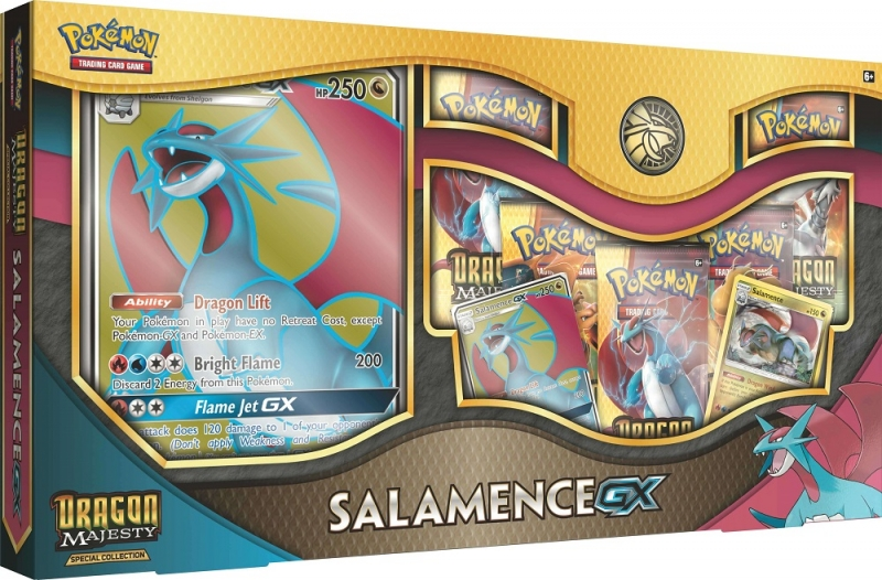 Pokémon Dragon Majesty Special Collection - Salamence-GX