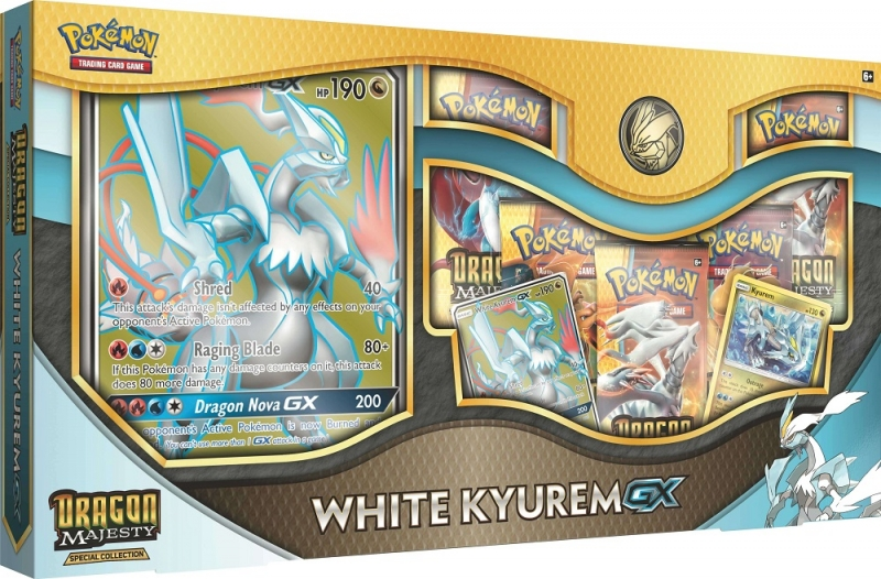 Pokémon Dragon Majesty Special Collection - White Kyurem-GX