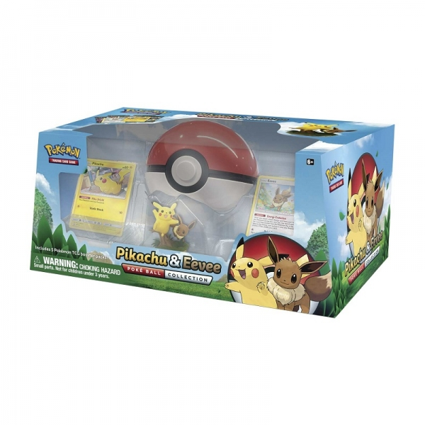 Pokémon Pikachu and Eevee Pokéball Collection