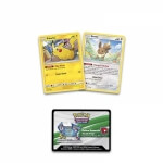 Pokémon Pikachu and Eevee Pokéball Collection - promo karty