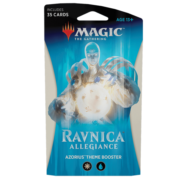 Magic the Gathering Ravnica Allegiance Theme Booster - Azorius